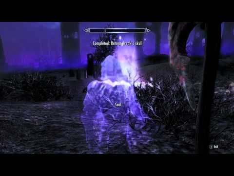 Skyrim Dawnguard - How to get Arvak (New Flaming Skeletal Horse Mount) - Cubical Gaming