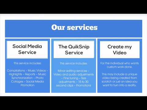 Introduction to Quiksnip: Social Media Marketing and Graphic Design Services | Quicksnip