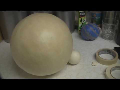 How to make a really cool masking tape ball!