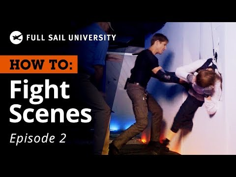 How To: Stage a Fight Scene – Props and Weapons | Full Sail University