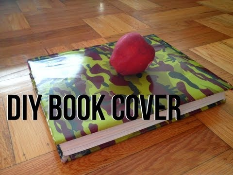 DIY: Book Cover from a Paper Bag for School