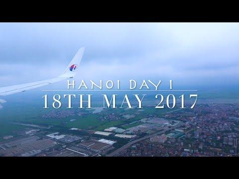 Hanoi Vlog Day 1