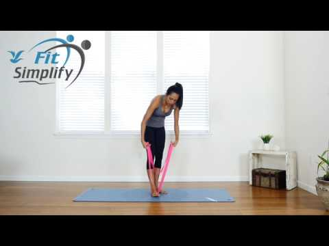 Ballet Band Stretches with Marin (Fit Simplify)