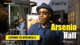 Arsenio Hall talks about