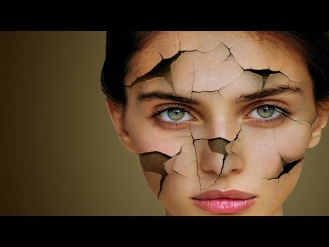 photoshop crack face effect tutorial