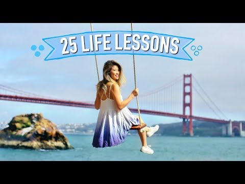 25 Life Lessons I Learned At 25 Years! 4K on Sony RX100V
