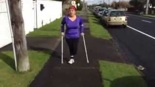 amputee girl wheelchairs and crutches - Pakfiles com