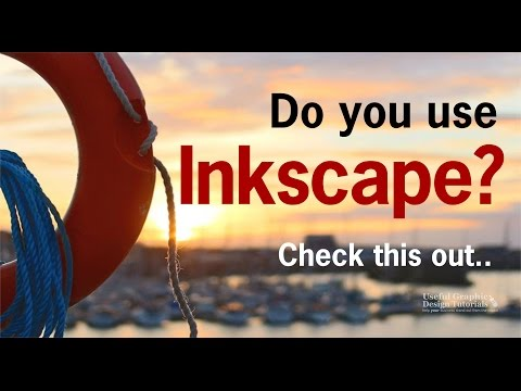 Inkscape Tutorials: What do you want to know how to do?