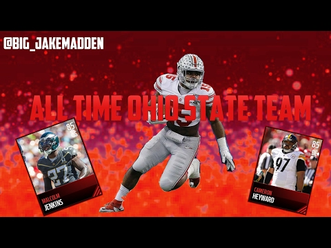 All- Time Ohio State Buckeyes Team!!! Madden Mobile 17 - Ep. 2