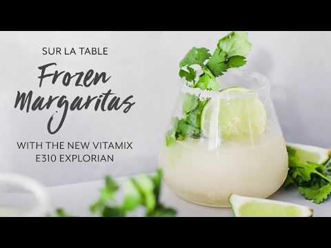 Frozen Margaritas in the Vitamix Explorian