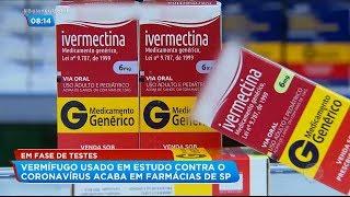 Vermífugo pode ser nova arma contra o coronavírus