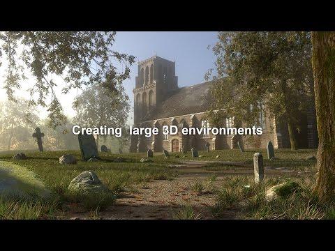 Creating Large 3D environments