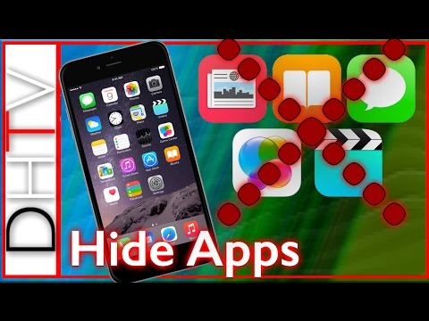 How To Hide Stock Apps - iPhone, iPad, iPod Touch W/ iOS 9 (Delete Stock Apps)