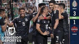 México 3-1 Canadá - RESUMEN Y GOLES - Grupo A - Copa Oro