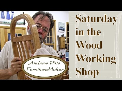 Solar Kilns: Saturday in the Woodworking Shop #9 with Andrew Pitts~FurnitureMaker