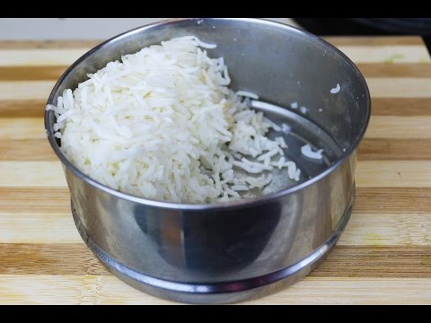 How to soft leftover hard refrigerated rice into fresh and soft rice - Trick of cooking