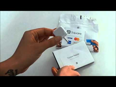 Square Up Credit Card Reader UnBoxing!