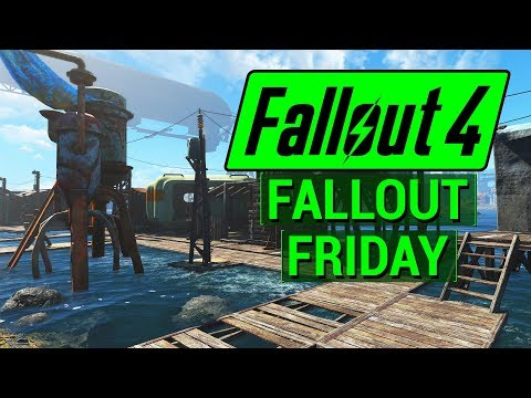 FALLOUT 4: Building an Empire with Sim Settlements Mod! (Fallout Friday)