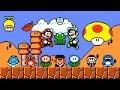 Download  SMBX 1.4.4 - Mario & Luigi 8-BIT. (All Power-Ups) MP3,3GP,MP4