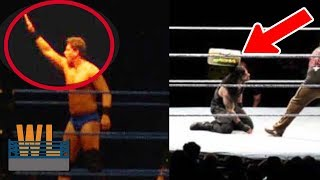 8 SHOCKING WWE Moments Caught on Camera By Fans