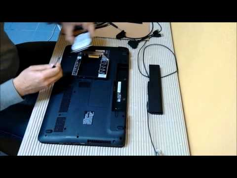 Toshiba Satellite L770/L755 how to install second HDD