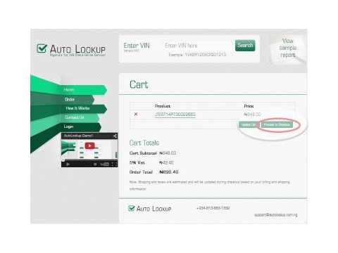 Autolookup.com.ng - How To Check Vehicle History Report