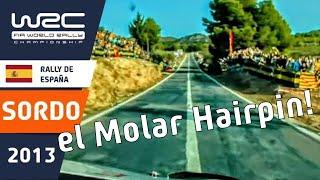 Onboard SS05 Dani Sordo/ Rally RACC Catalunya - Rally de España 2013