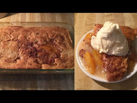 Episode 48: Southern Style Peach Cobbler