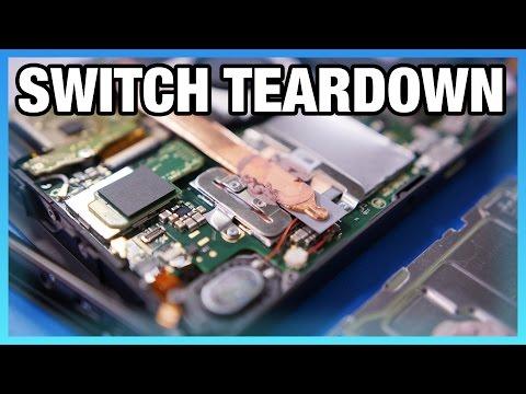 Nintendo Switch Teardown & Disassembly