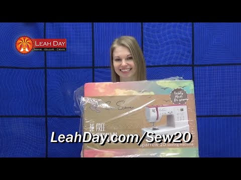 Leah has a New Sewing Machine! Unboxing the Eversewn Sparrow 20