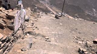 Towards Ghar-e-Hira jabl-e-noor on the mountain of Makkah 8