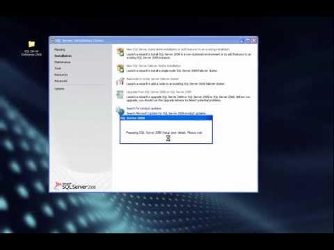 Installation SQL Server 2008 ,Windows XP