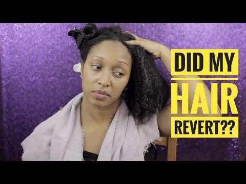 Straight to Curly | Did my hair revert?? | Natural Hair | Part I