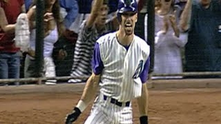 Must C Classic: Gonzalez Delivers Walk-off Hit In Game 7 Vs. Rivera To Win 2001 World Series