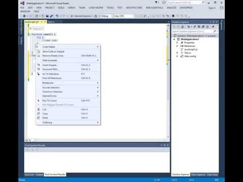 CodeHelper  - [C#, Javascript, VB] Regions (Javascript, C#, VB .Net)