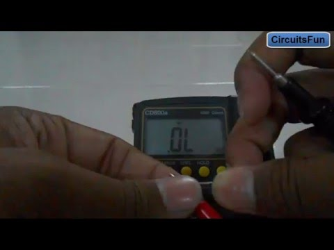 how to test a rectifier diode