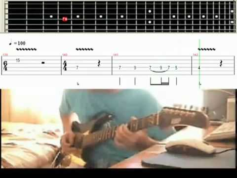 Canon Rock Slow Motion   Video Tab Guitar Lesson 75% Tempo