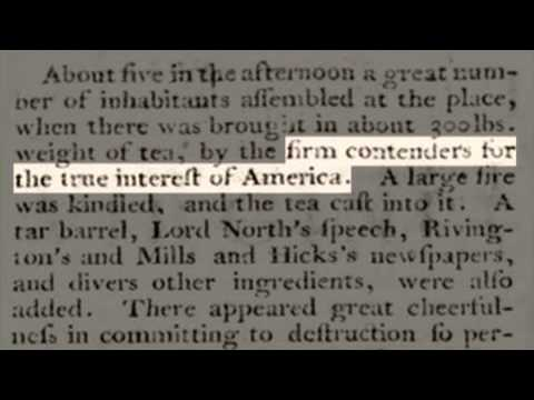 Examples of Historical Thinking - 1775 Colonial Newspaper Article - Part Three