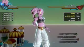 Dragon ball Xenoverse 2 - Female saiyan Max Damage Build
