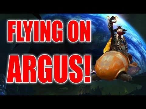 How to Fly on Argus