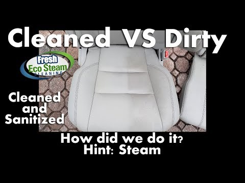 Cleaning Leather with Steam | Fresh Eco Steam Cleaning