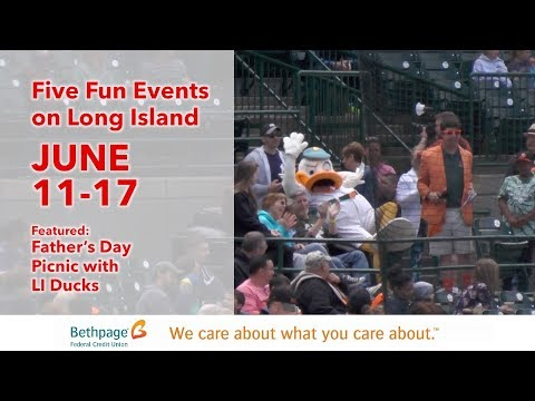 Five Fun Events on Long Island JUNE 11 to 17 with Jenny Shep