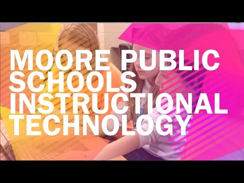 Moore Public Schools Tech Integration Promo