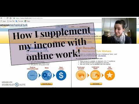 How I use MTurk for Supplemental Income
