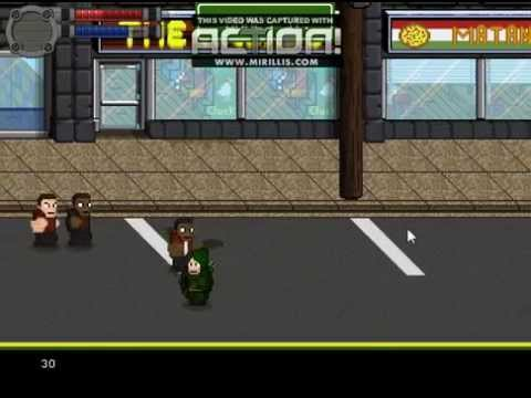 Sample GameMaker: Studio Beatem Up Footage