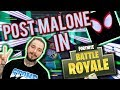 So I made Post Malone's Sunflower in Fortnite with Music Blocks