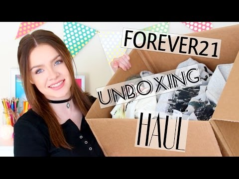FOREVER21 UNBOXING HAUL!
