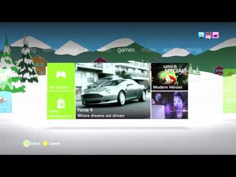 Xbox 360 December Dashboard Walkthrough [12.6.11] - Kinect, Beacon and Bing Support