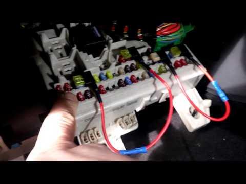 Ignition switching 12v Aux (cigar lighter) sockets Focus Mk2 Dash Cam fix.