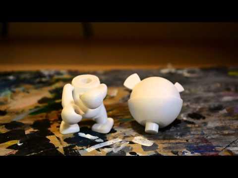 Designer Vinyl Toy Unboxing - Episode One